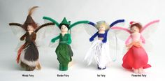 clothespin crafts | Fairy clothespin People Craft Kits