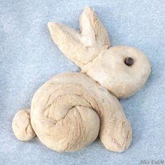 Brioche lapin de Pâques