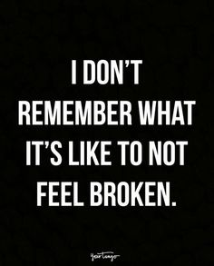 Doesn't mean it hurts less.