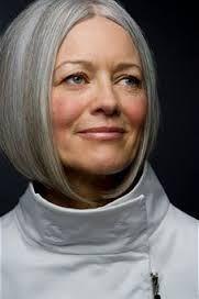 naturally gray hair