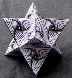 zentangle flowers | op star with pattern..zentangle by susie