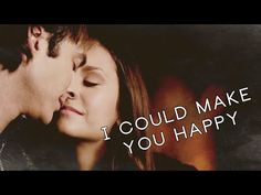 Breath of life — [6x18] Damon + Elena// I Could Make You Happy