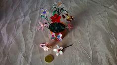 Creare per Credere: Fil di ferro, smalto e fantasia per......... fiori...