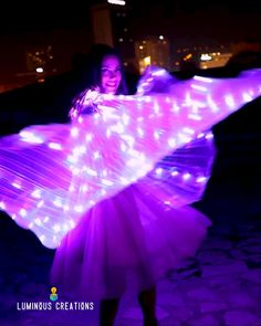 Illuminated Veil super sale! 50% OFF And Free Shipping! Impress spectators, turn heads, and create captivating light shows at your next festival, party, or special event. The Illuminated Veil™ is the perfect addition to any outfit. Are you ready? Illuminated Veils™ are gorgeous, wearable wings that are infused with hundreds of gorgeous LEDs. Create breathtaking light shows and leave a lasting impression! #wings #dancing #festival #luminous #costume #LED #lights #glow #butterfly Festival Makeup, Festival Party, Sun And Earth, Rave Makeup, Fairy Wings, Rave Outfits, Rainbow Colors, Special Events, Veil