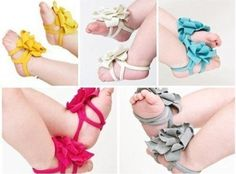 Infant Flower Barefoot Sandal Socks Only $1.99 + FREE Shipping! (hot pink) - Spend With Pennies