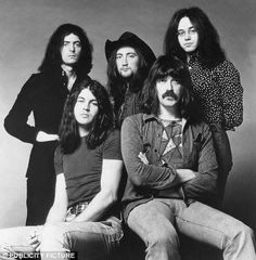 Deep Purple with Ian Gillian.........