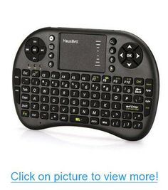 Amazon.com : Hausbell $#174; Mini H7 2.4GHz Wireless Entertainment Keyboard with Touchpad for PC, Pad, Andriod TV Box, Google TV Box, Xbox360, PS3 $amp; HTPC/IPTV (Black) : Keyboard And Mouse Sets : Computers $amp; Accessories