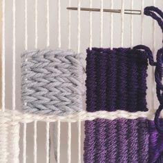 #Soumak #Weaving | Hand-woven tapestries by Melissa Washin