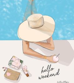Timestamps DIY night light DIY colorful garland Cool epoxy resin projects Creative and easy crafts Plastic straw reusing ------. Hello Weekend, Bon Weekend, Happy Weekend, Cinema Tv, Weekend Quotes, Beach Art, Beautiful Artwork, Fashion Sketches, Girly Things