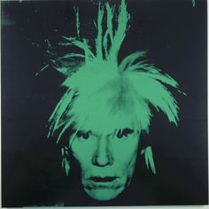 Andy Warhol Self Portrait 1986 Synthetic polymer paint and silkscreen ink on canvas Andy Warhol Pop Art, Museum Of Modern Art, Art Museum, Mid Century Modern Art, Contemporary Artists, Artsy, Fine Art, Abstract, Image