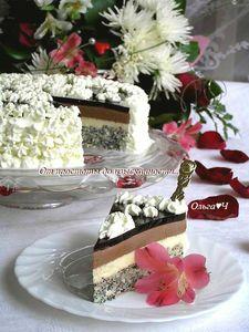 Торт Маковая свадьба