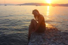 Sea, Sunset and me!