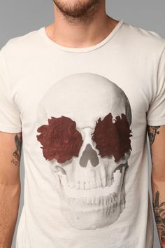 Hips & Hair Skull And Roses Tee  $28