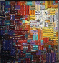 intertwined quilt by Carol Taylor.