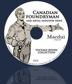 Items similar to Canadian Foundryman – Vintage Magazines Collection 8 Volumes PDF E-books on 1 DVD Metalwork on Etsy Old Magazines, Vintage Magazines, Metal Working, Ebooks, Collections, Etsy, Metalworking