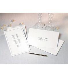 Wilton® 100 ct. Single Border Invitation Kit