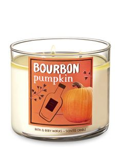 Bourbon Pumpkin Candle Bath And Body Works Bourbon Candles foreverbourbon Bath Candles, 3 Wick Candles, Scented Candles, Candle Jars, Bath N Body Works, Bath And Body, Bourbon, Home Scents, Luxury Candles