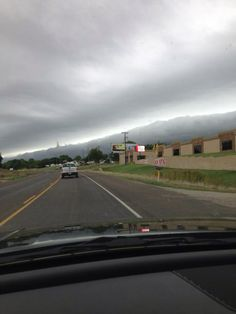 Those clouds look like mountains... Ain't no mountains in Dallas!