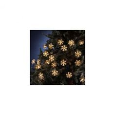 Set of 35 Snowflake Reflector Christmas Lights Item #UL1680  Featur...