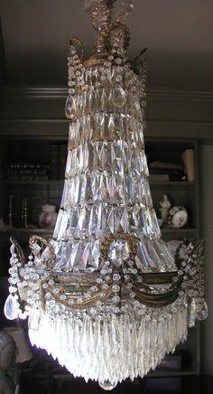 French chandelier, circa 1820.