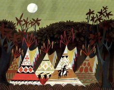 by Mary Blair for Peter Pan