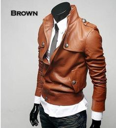 Wholesale-free-shipping-2011-Men-s-new-Casual-leather-jacket-with-tall-collar-yujy.jpg 504×556 píxeles