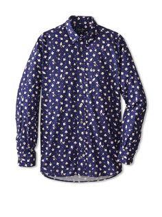 Gitman Blue Men's Patterned Long Sleeve Sportshirt, http://www.myhabit.com/redirect/ref=qd_sw_dp_pi_li?url=http%3A%2F%2Fwww.myhabit.com%2Fdp%2FB00JGSU26Y