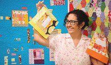 Curso online de Preciosos retalhos: reaproveitamento de tecidos em patchwork - Fa Giandoso
