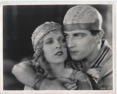 "1925 Alice Terry and Ramon Novarro in ""Ben Hur""."