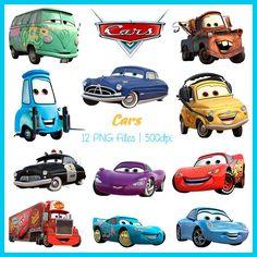 Cars Clipart, Cars Images, Cars PNG, Cars Supplies, Downloadable, DSC-007