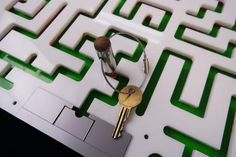 The prefect puzzle prop for any Escape Room. Escape Room participants must navigate the maze in order to free the key. This puzzle will trap a key or… Escape Puzzle, Escape Room Puzzles, Escape Room Diy, Escape Box, Escape Games, Maze Puzzles, Labyrinth, The Great Escape, Party Decoration