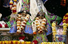 Their Lordships Sri Sri Radha Vrindavanchandra