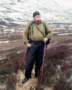 William at Corrour Bothy - Black Dots - Nicholas JR White Medium Format Photography, R White, Snowdonia National Park, Cairngorms, Contemporary Photography, Scottish Highlands, Black Dots, Lake District, Bradley Mountain