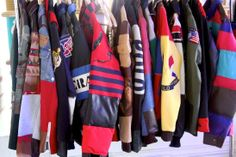 Taz Arnold shares his collection of colorful coats in his closet interview
