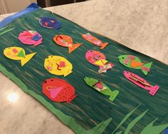 Fish Crafts For Kids: Brown Paper Fish Tank