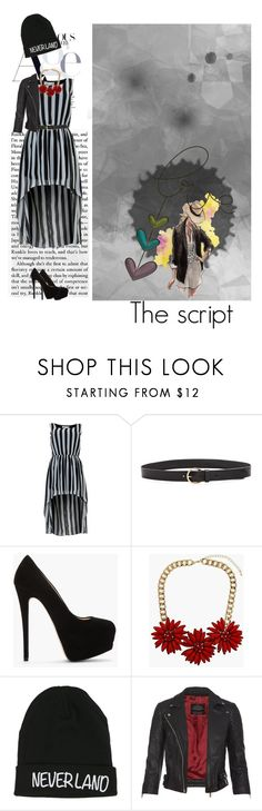 """""""Hopes and fears"""" by scarsandstories ❤ liked on Polyvore featuring Cameo Rose, Madewell, Giuseppe Zanotti, Topshop, Disney and AllSaints"""