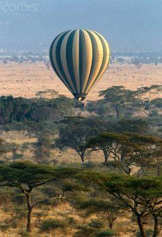 Tanzania - Safari - Balloon