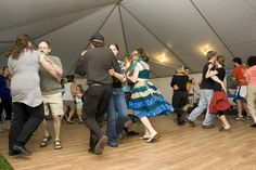 Dancing at the Newfoundland and Labrador Folk Festival by Newfoundland and Labrador Tourism, via Flickr