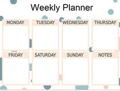 june 2018 weekly workout planner