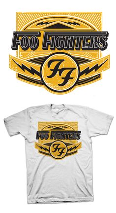 Foo Fighters Merch Design on Behance Concert Style 7f33e006fe