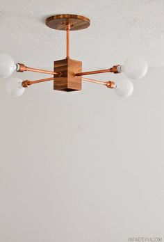 Poppytalk: 20 Brilliant DIY Lighting Projects