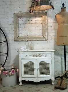 Painted Cottage Shabby TeaStained Romantic by paintedcottages, $170.00