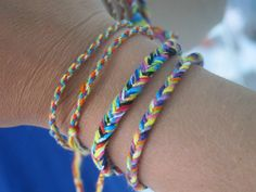 Fishtail Friendship Bracelets!