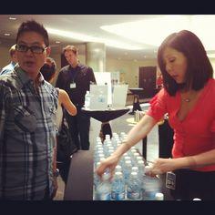 So no one gets thirsty nor hungry at #WITnext #traveljobcamp #Webintravel #travel #SMU #Singapore #university - @webintravel- #webstagram