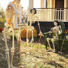 Decorating with skeletons from BHG.com