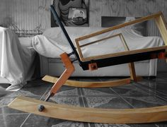 Rocking chair ARP by objeto(A)TIPO Rocking Chair, Bassinet, Bed, Furniture, Home Decor, Furniture Design, Homemade Home Decor, Rocking Chairs, Crib