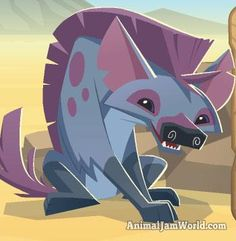 Animal Jam Hyena Codes 2014