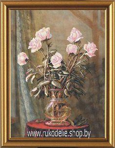 Схему Вышивки Крестом Садовые Розы1046 От Риолис