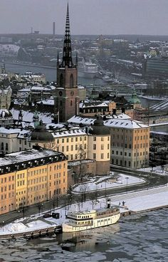 Stockholm In Winter, Sweden