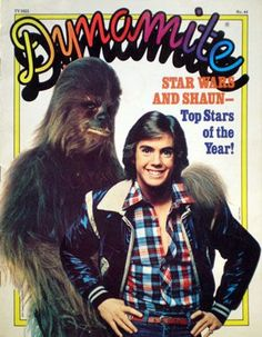 """Dynamite"" Magazine,1977. Omg I had the one with DAVID CASSIDY on the front, not shaun! lol!"
